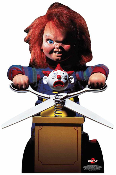 Chucky with Jack in the Box from Child's Play Official Lifesize Cardboard Cutout