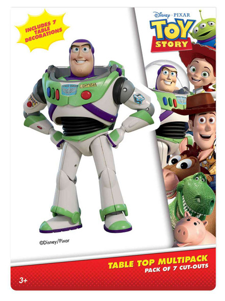 Toy Story Official Table Top Cardboard Pack Shot