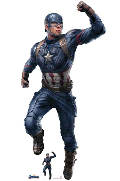 Captain America from Marvel Avengers: Endgame Official Cardboard Cutout