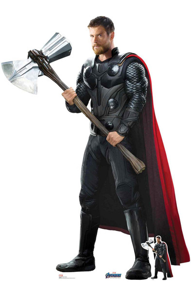 Thor from Marvel Avengers: Endgame Official Cardboard Cutout