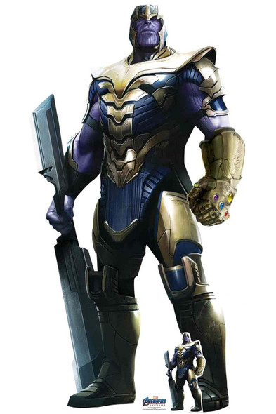 Thanos from Marvel Avengers: Endgame Official Cardboard Cutout