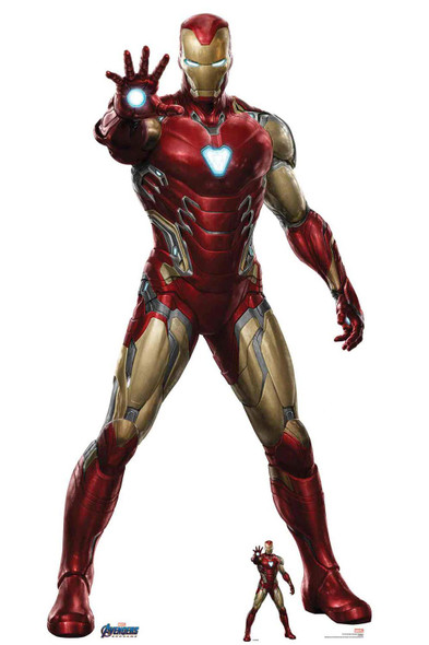 Iron Man from Marvel Avengers: Endgame Official Cardboard Cutout