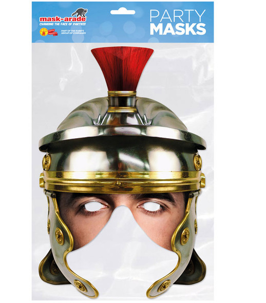 Roman Legion Helmet Historical Single 2D Card Party Half Face Mask