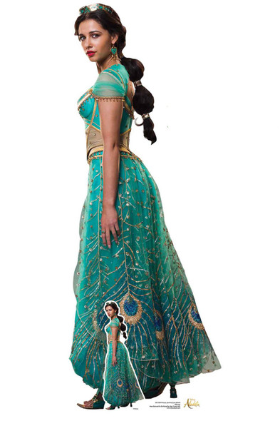 Princess Jasmine from Aladdin Movie Official Lifesize Cardboard Cutout