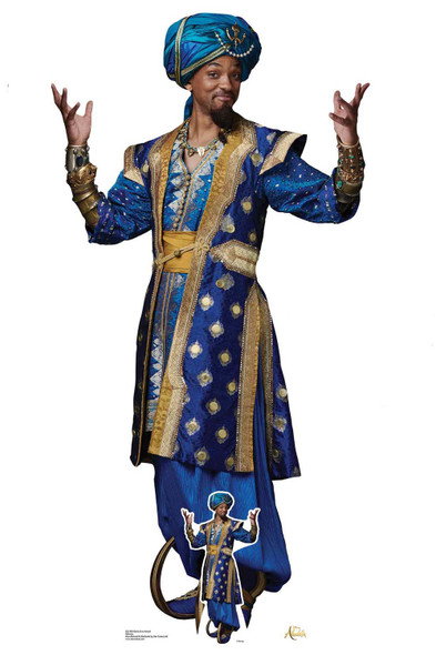 Genie from Aladdin Movie Official Lifesize Cardboard Cutout