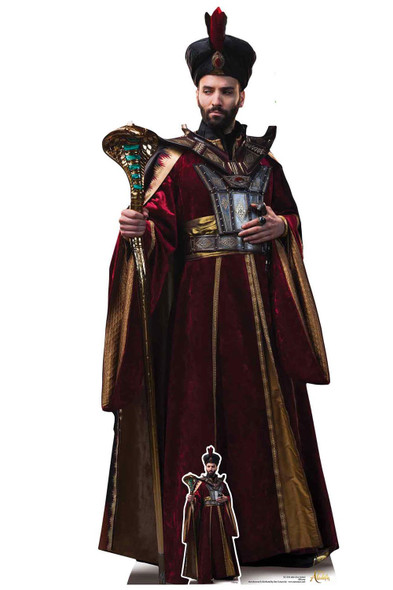 Jafar from Aladdin Movie Official Lifesize Cardboard Cutout