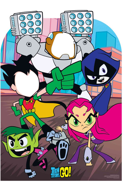 Teen Titans Go Official Child Size Stand In Cardboard Cutout
