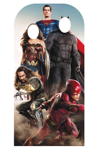 Justice League Live Action Official Stand In Cardboard Cutout