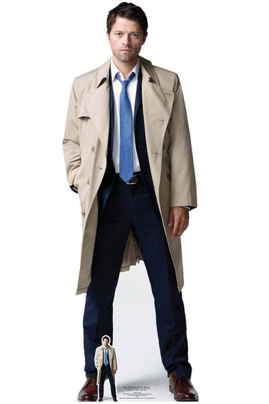 Castiel from Supernatural Official Lifesize Cardboard Cutout