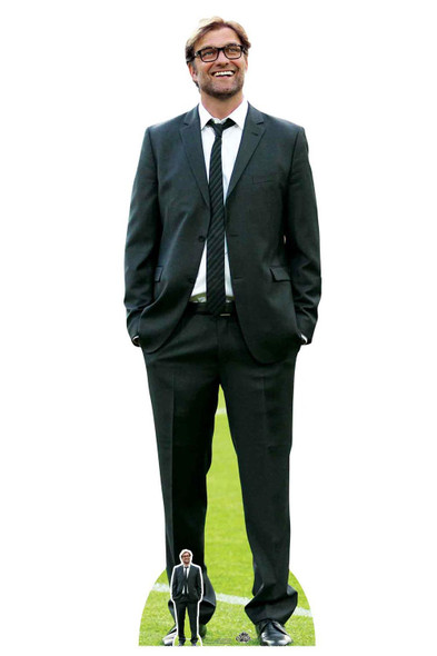 Jurgen Klopp Football Manager Lifesize Cardboard Cutout