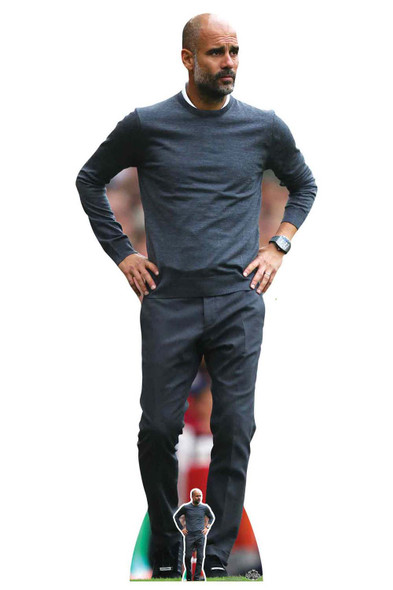 Pep Guardiola Football Manager Lifesize Cardboard Cutout