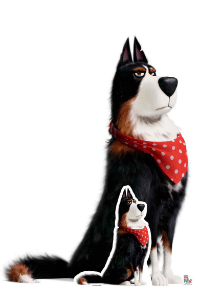 Rooster the Sheepdog from The Secret Life Of Pets 2 Cardboard Cutout / Standup