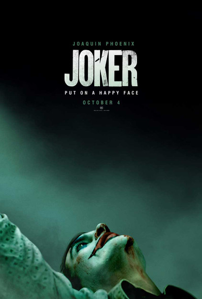 Joker Original Movie Poster - Double Sided Advance Style