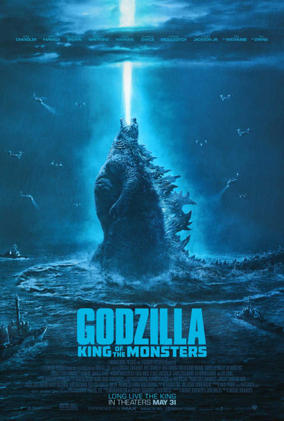 Godzilla: King Of The Monsters Original Movie Poster – Double Sided Final Style