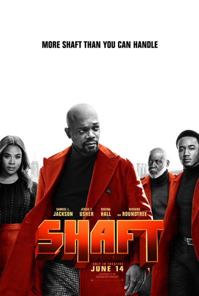 Shaft (2019) Original Movie Poster – Double Sided Advance Style