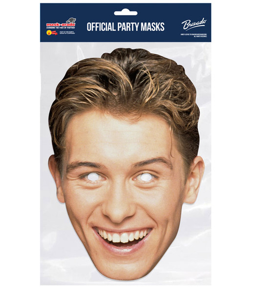 Mark Owen Retro Style Take That Official 2D Card Party Face Mask