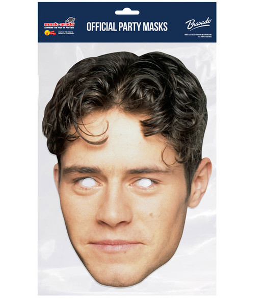 Howard Donald Retro Style Take That Official 2D Card Party Face Mask