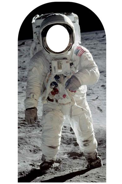 Buzz Aldrin Astronaut Lifesize Stand-In Cardboard Cutout