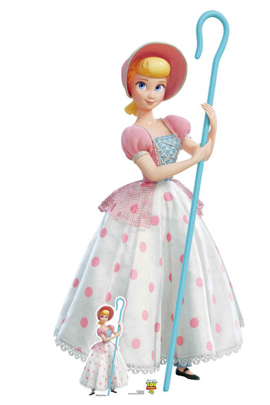 Bo Peep Polka Dot Dress Official Disney Toy Story 4 Lifesize Cardboard Cutout