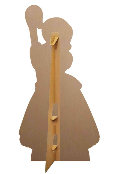 Rear of Bo Beep Polka Dot Dress Cardboard Cutout set up