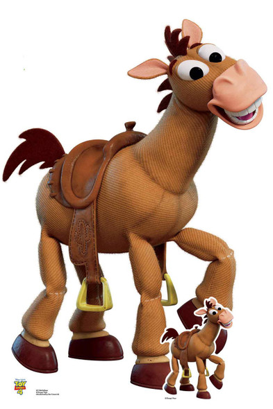 Bullseye Toy Horse Official Disney Toy Story 4 Lifesize Cardboard Cutout