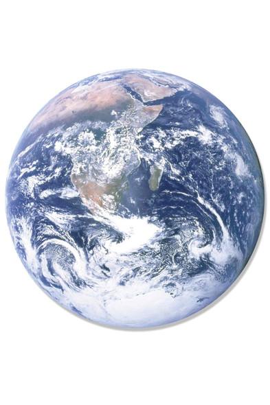 Planet Earth 3D Effect Cardboard Cutout Wall Art