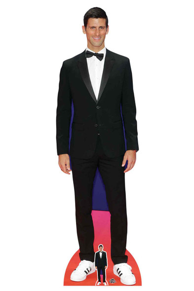 Novak Djokovic Red Carpet Lifesize Cardboard Cutout / Standee