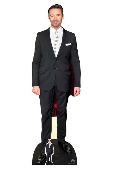 Hugh Jackman Polka Dot Tie Lifesize Cardboard Cutout / Standee