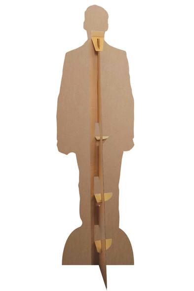 Rear of Hugh Jackman Polka Dot Tie Cardboard Cutout