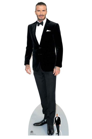 David Beckham Velvet Tuxedo Lifesize Cardboard Cutout / Standee