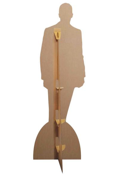 Rear of David Beckham Velvet Tuxedo Cardboard Cutout / Standee