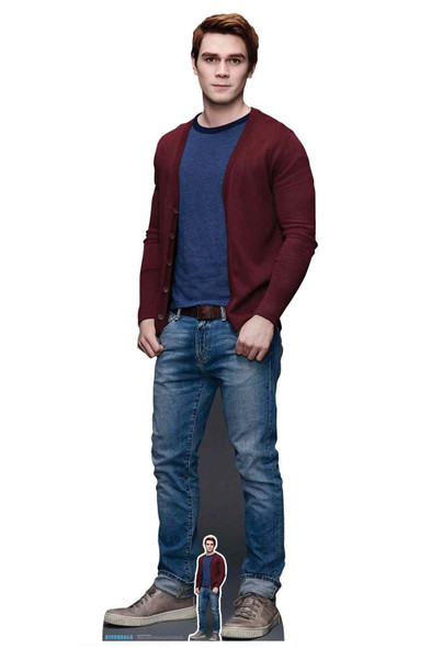 Archie Andrews from Riverdale Official Lifesize Cardboard Cutout