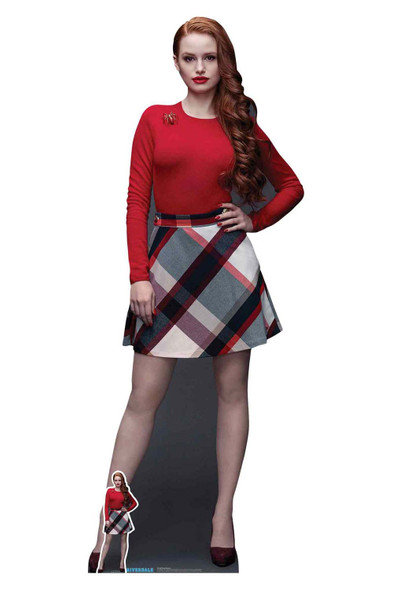 Cheryl Blossom from Riverdale Official Lifesize Cardboard Cutout
