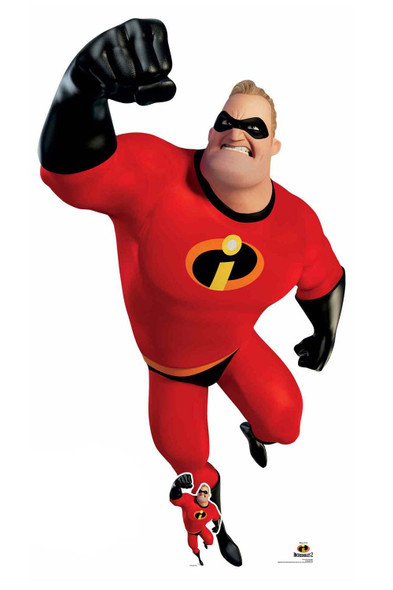 Mr Incredible from Incredibles Official Disney Giant Cardboard Cutout