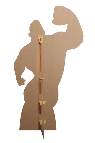Rear of Mr Incredible Giant Cardboard Cutout