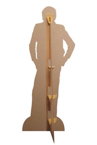 Rear of David Hasselhoff as Knight Rider Cardboard Cutout