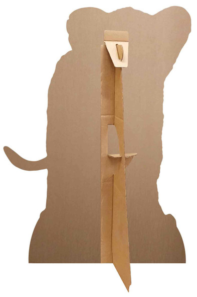 Rear of Simba from The Lion King Official Cardboard Cutout