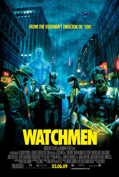 Watchmen Original Movie Poster - Final Style
