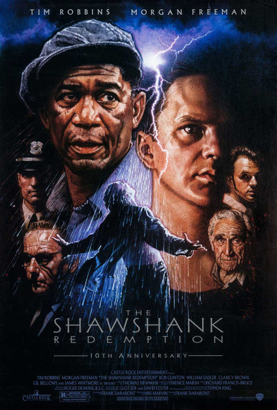 The Shawshank Redemption - Original Movie Poster 10th Anniversary Drew Struzan Artwork