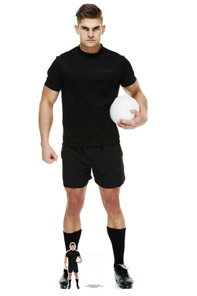Rugby Player Cardboard Cutout / Standee / Standup