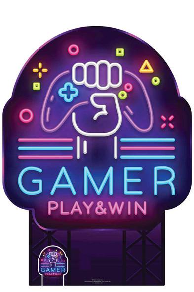 Gamer Sign Cardboard Cutout / Standee / Standup