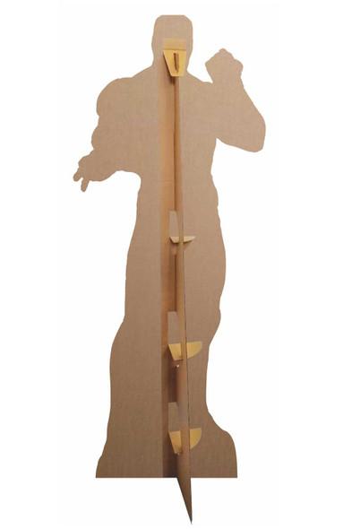 Rear of Iron Man Wearing Infinity Gauntlet Cardboard Cutout