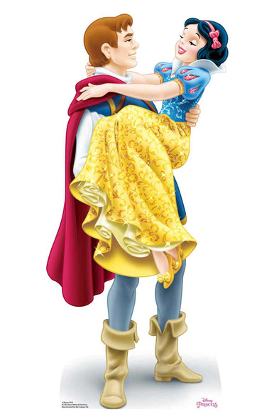 Princess Snow White and Prince Florian Official Disney Cardboard Cutout
