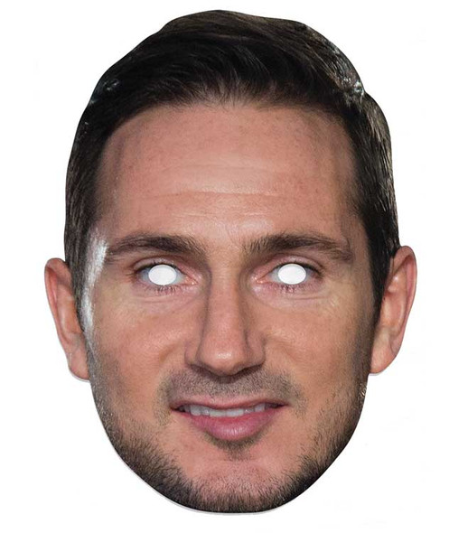 Frank Lampard Football Celebrity Single 2D Card Party Face Mask