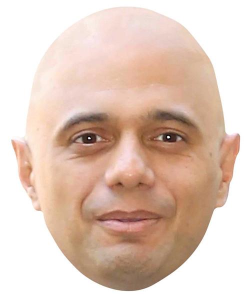 Sajid Javid Single 2D Card Party Face Mask
