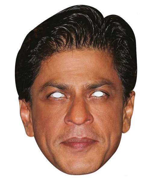 Shah Rukh Khan Celebrity 2D Single Card Party Face Mask
