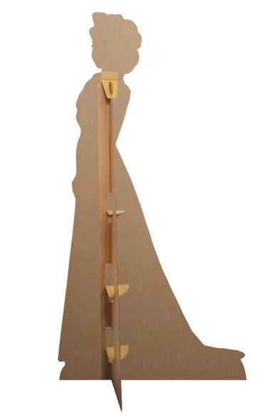 Rear of Elsa Frozen 2 Cardboard Cutout