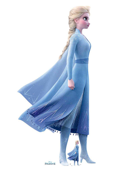 Elsa Magical Powers from Frozen 2 Official Disney Cardboard Cutout