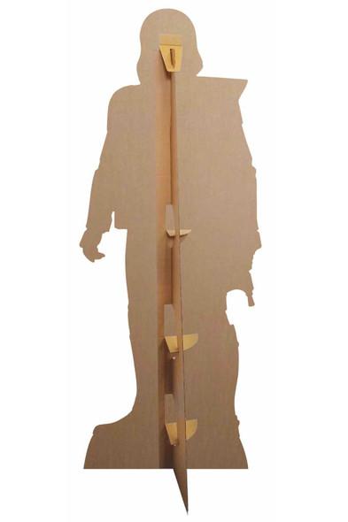 Rear of Stormtrooper Star Wars: The Rise of Skywalker Lifesize Cardboard Cutout