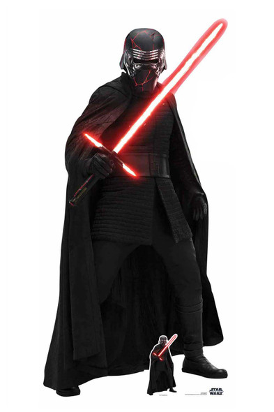 Kylo Ren Official Cardboard Cutout from Star Wars: The Rise of Skywalker